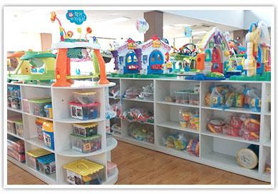 장난감도서관 내부 사진