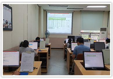 정보화교육 모습1