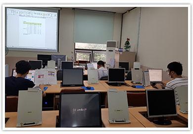 정보화교육 모습2
